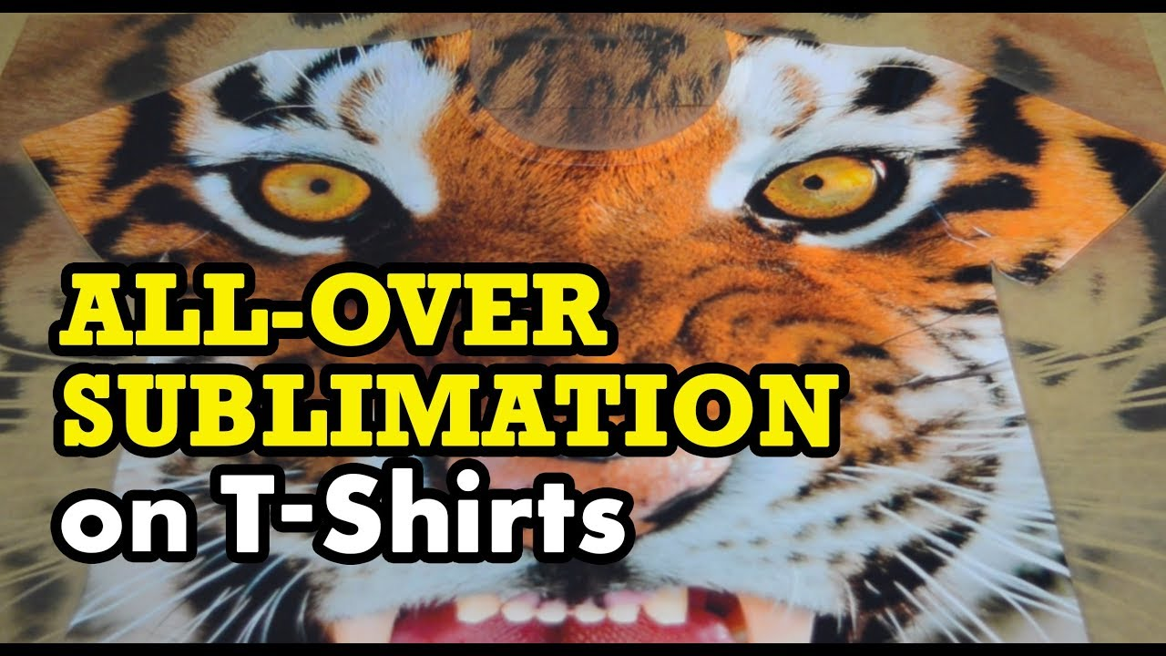 All Over Sublimation Printing On T Shirts Part 1 The Printing