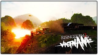CRAZY HILL FIGHT!   Squad Leader (Rising Storm 2: Vietnam Gameplay)