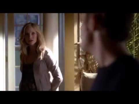 Vampire Diaries 4x08, Damon and Elena morning scene, Blue Foundation  Eyes On Fire  HD
