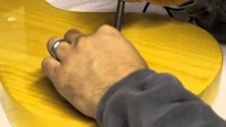Schroeder Heat-pressing String Ferrules Into A Chopper Tl