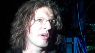Tim Isfort vor der Uraufführung von Liebe, Sehnsucht, Ruhrort im Gespräch