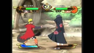 Naruto Shippuden Gekitou Ninja Taisen Special: Itachi vs. Sage Naruto