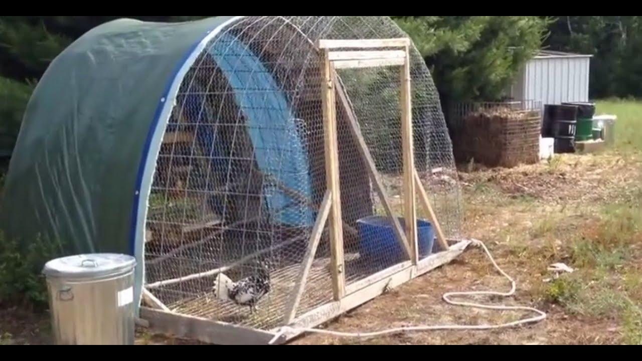 portable chicken tractor