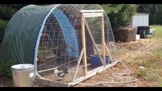 "Portable Chicken Tractor ""the Hoop Coop"""