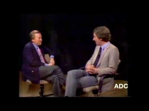 Channel 4 closedown Keith Harrison with David Frost in-vision 30th December 1983