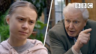 'People are listening', Greta meets Sir David - BBC