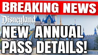 BREAKING NEWS Disneyland's NEW AP PROGRAM ANNOUNCED Every Detail You Need To Know