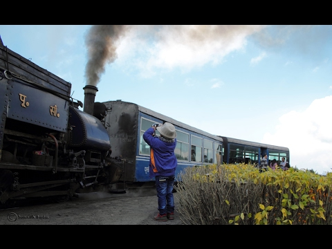 Darjeeling Toy Train , Darjeeling Steam Railway , Joy Ride Live ,  Darjeeling - Ghum - Batasia Rail
