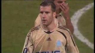 Saison 2008-2009 Coupe de l'UEFA 8ème de finale aller Olympique de Marseille-Ajax Amsterdam 2-1