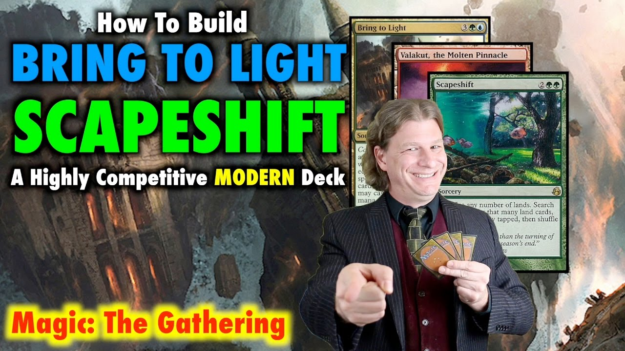 How To Build Bring To Light Scapeshift  A Highlypetitive Modern Magic  The Gathering Deck