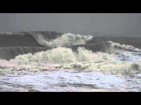 Virginia Beach Storm Waves 2 October 2017