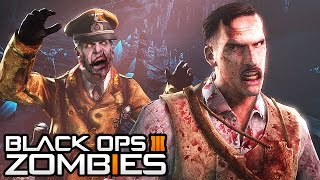Black Ops 3 Zombies - Richtofen is a Zombie! HUGE Easter Egg! (Black Ops 3 Zombies Gameplay)