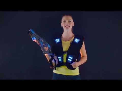 Indoor Laser Tag. How To Play? Briefing Video