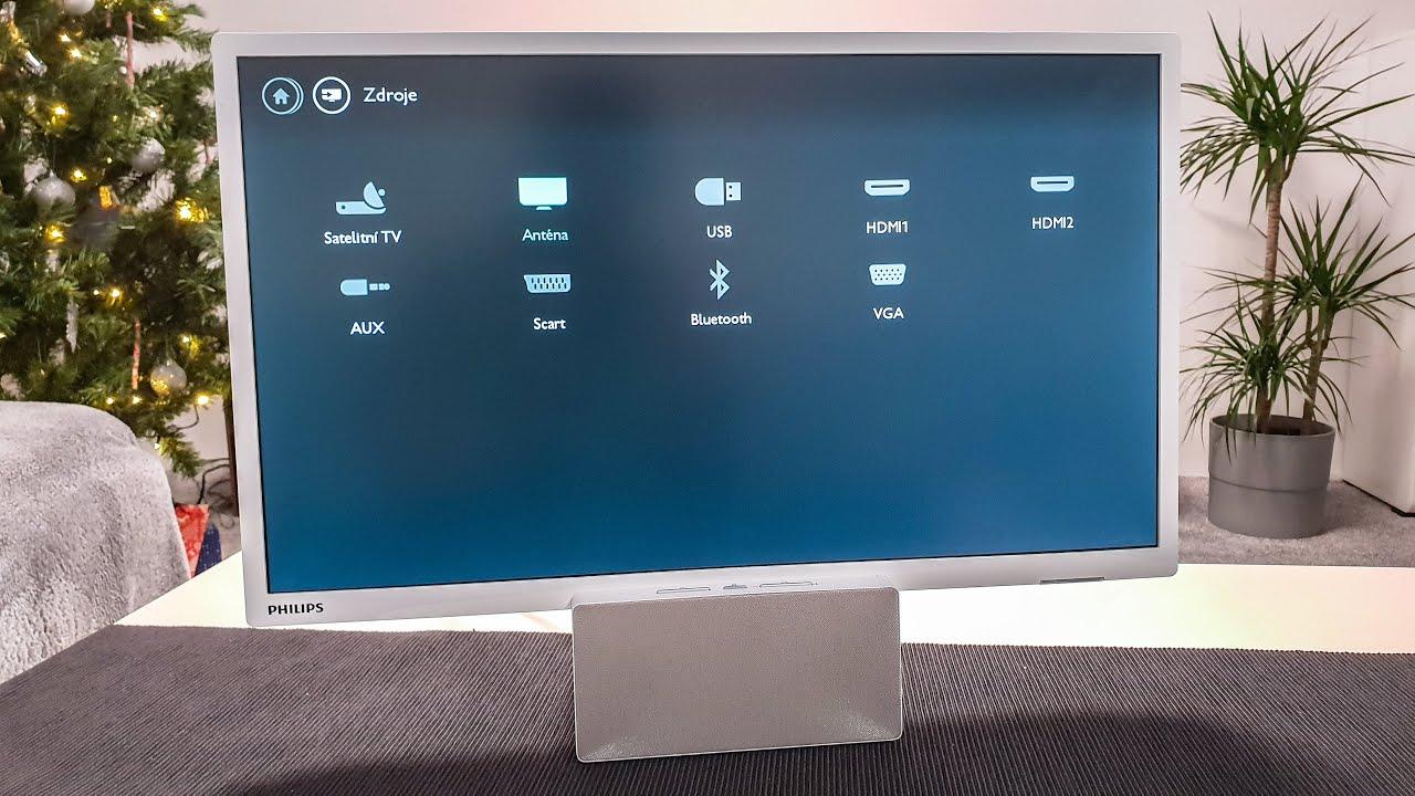89f26970a Philips 24PFS5231 - bluetooth reproduktor s televizí - YouTube