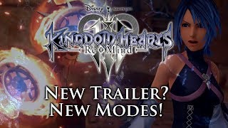 [rumor] New Kingdom Hearts 3 Remind Trailer Coming Very Soon! Photo Mode, Fast Pass & Black Code!