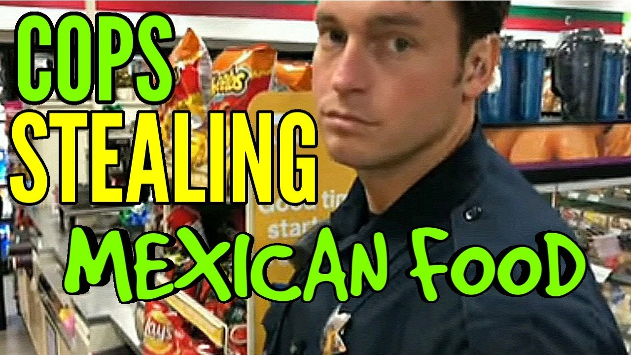 Cops get caught stealing taquitos in 7-11 (seven eleven store)