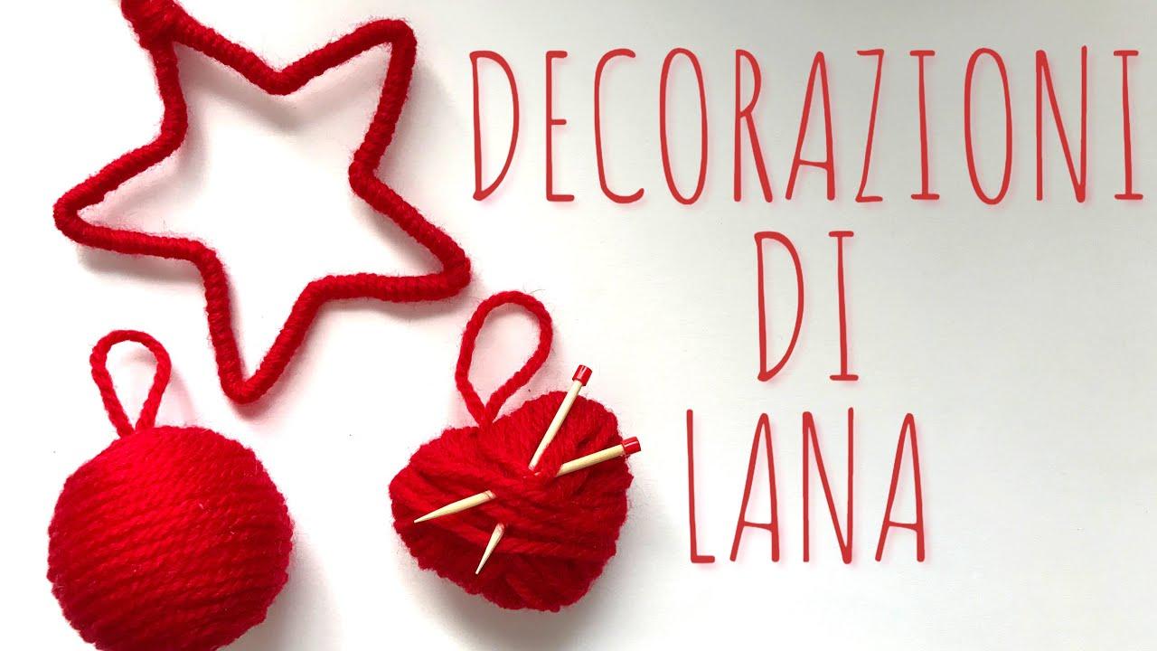 Decorazioni Natalizie Di Lana 3 Esempi Facilissimi Creatività Natale Arte Per Te