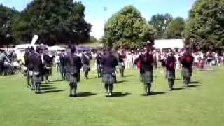 Harpenden Pipe Band 2009 (Officially the best dressed pipe band 2009) 2