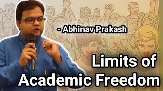 Limits of Academic Freedom