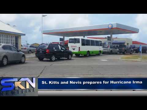 ST KITTS AND NEVIS PREPARES FOR HURRICANE IRMA