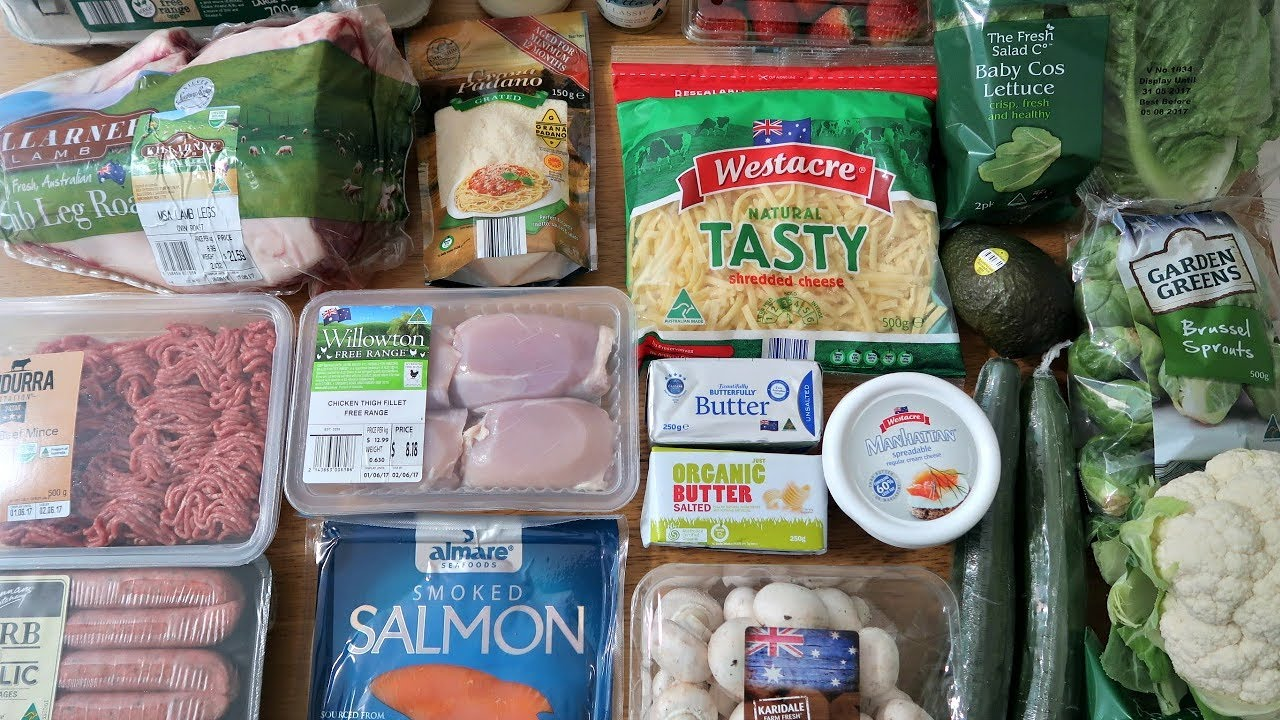 Aldi Keto Grocery Haul Low Carb Shopping List Youtube