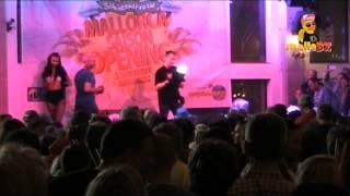 Kim Gloss beim Mallorca Opening 2015 im Bierkönig