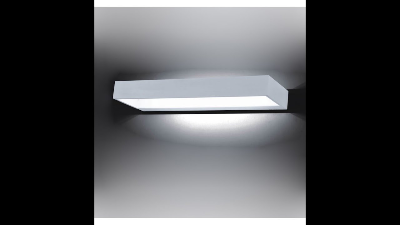 Applique led applique à volet pivotant led wall lamp nemo milia shop