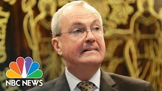 New Jersey Gov. Murphy Gives Update On The Coronavirus   NBC News (Live Stream Recording)