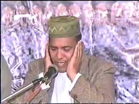 Qari Rafat abbas reciting surah Dhuha and Qosar.flv