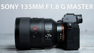 Trên tay ống kính Sony 135mm F1.8 G Master
