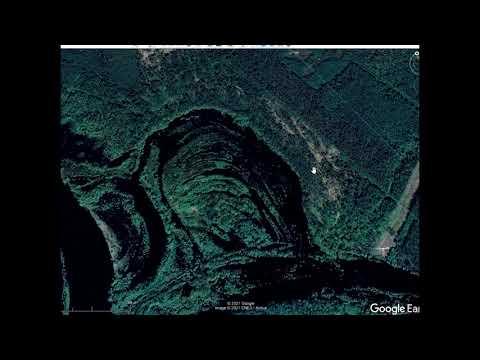 Поиск поселений по надпойменным террасам