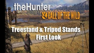 theHunter: Call of the Wild - Treestand and Tripod First Look