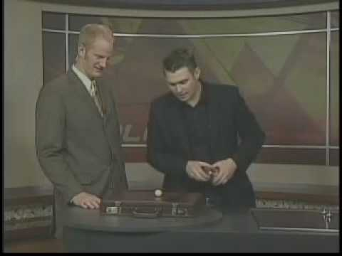 3 of 3 - Ed Clarke performing Close up magic live on kolo8 tv in Reno nevada