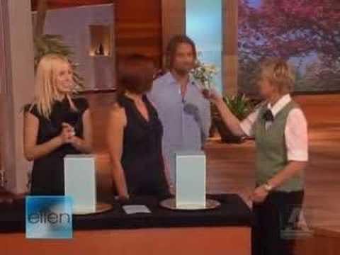 Josh Holloway on Ellen Part 2