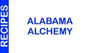 Alabama Alchemy