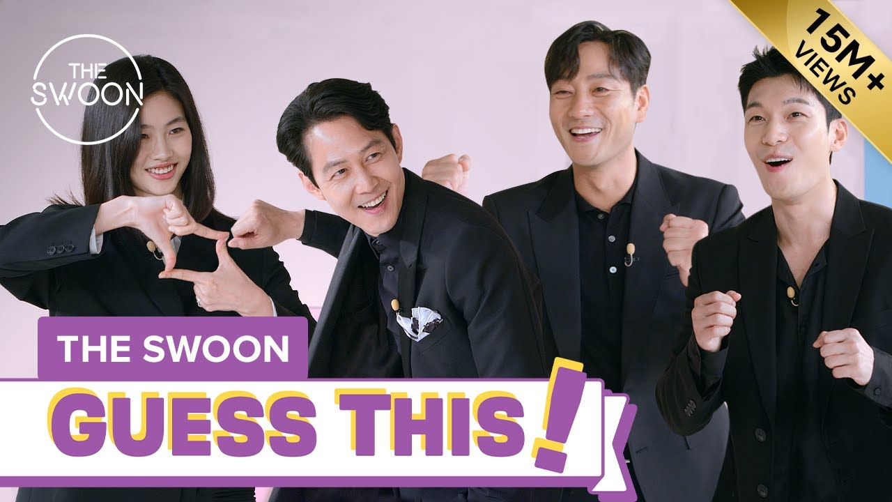 Download Cast of Squid Game ditches tracksuits for suits to play charades [ENG SUB]