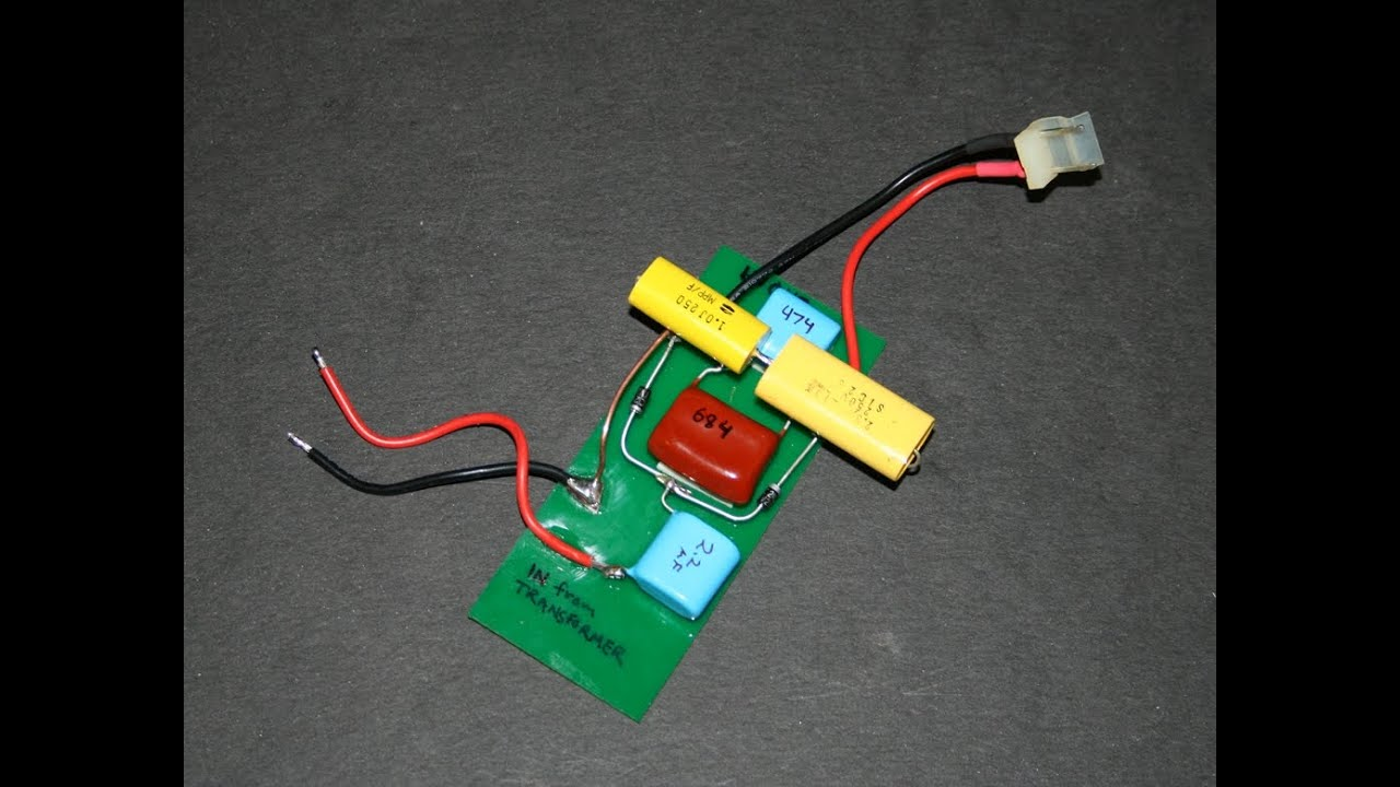 Misc Circuits Bowden39s Capacitive Discharge Ignition Circuit Demo 1