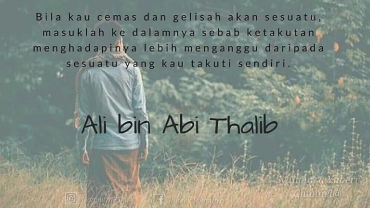 Kata Kata Bijak Kehidupan Ali Bin Abi Thalib