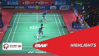 BLIBLI Indonesia Open 2018 | Badminton MS - F - Highlights | BWF 2018
