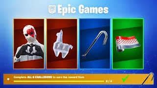 HOW TO GET FREE ITEMS IN FORTNITE! (Fortnite High Stakes Challenges)