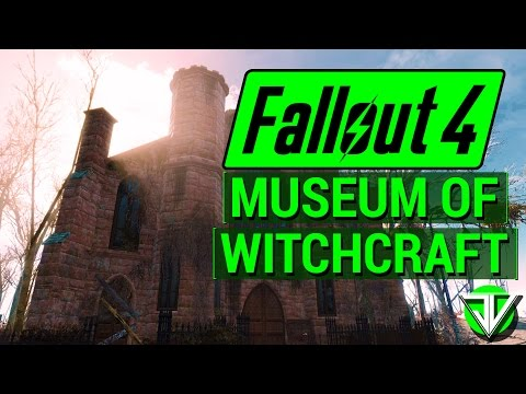 FALLOUT 4: The Devil's Due at Museum of WITCHCRAFT! (SCARY Locations in Fallout 4!)