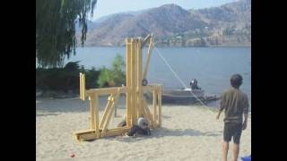 Wooden Floating Arm Trebuchet