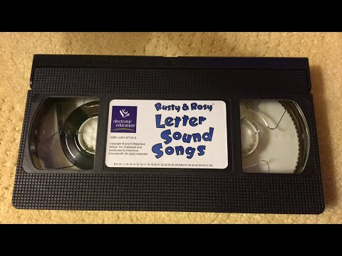 Let's Watch: Rusty & Rosy Letter Sound Songs
