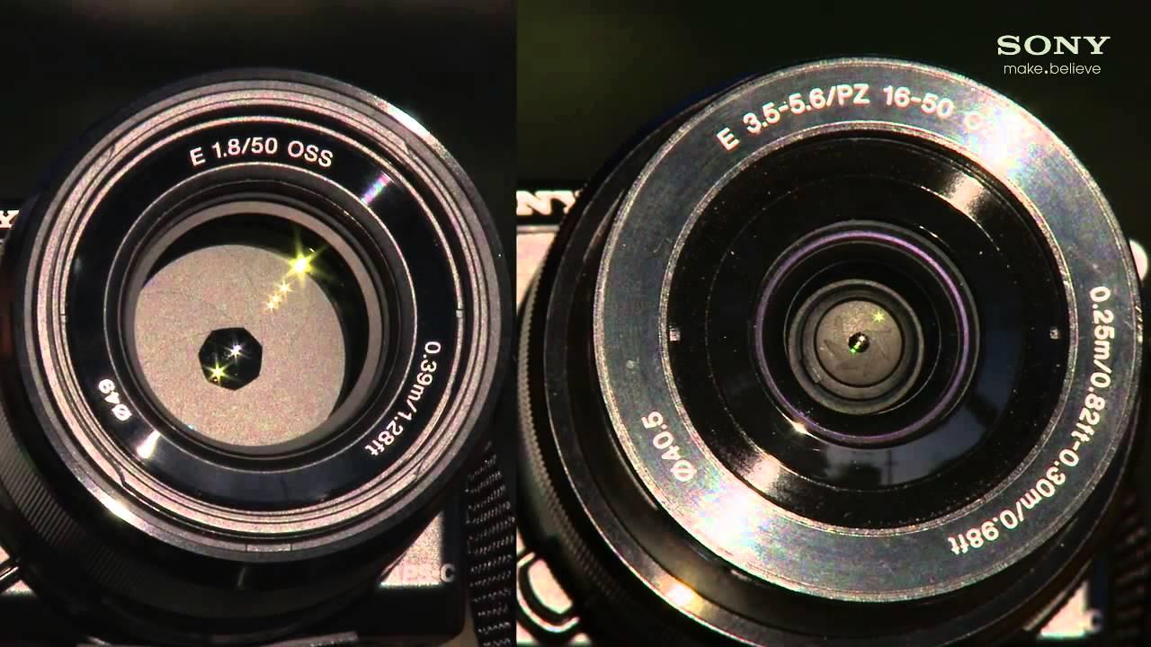 Sony SEL50F18 Lens Update