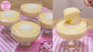 Maravilhosa Sobremesa Cremosa – Poucos Ingredientes