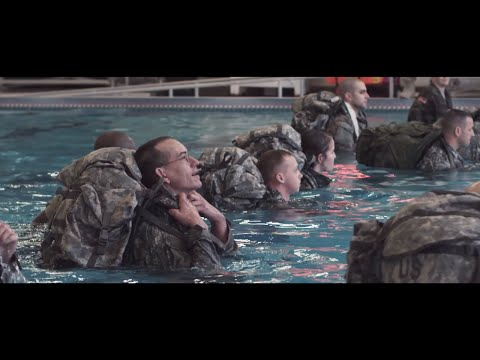 320th PSYOP Water Survival Training 2016