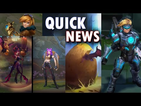 Ezreal Update, Dragon Egg Teaser, Bewitching Janna & Kaisa | League of Legends Quick News thumbnail