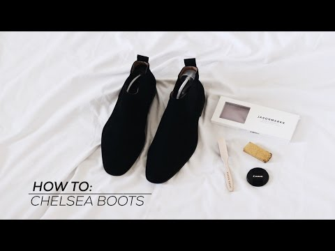 HOW TO: CHELSEA BOOTS | STYLEBYSRXGS