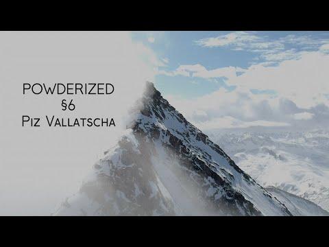 Powderized §6 - Distant Temptations: Skiing The Vallatscha Couloir