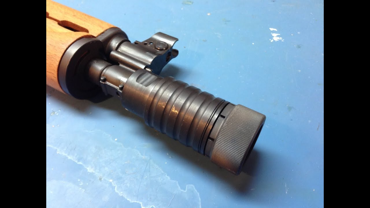 CNC Warrior M92 Krinkov 4pc brake (#23959), Flame Killer!